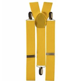 Bretels geel