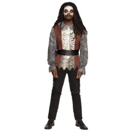 Baron Samedi skelet kostuum