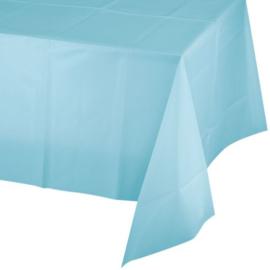 Lichtblauwe tafelkleed