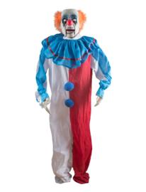 Clown 180cm licht, geluid en beweging