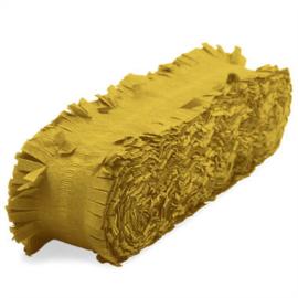 Crepe guirlande goud 24 meter