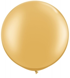 Ballon 90cm gold metallic qualatex