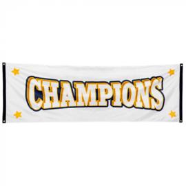 Polyester banner 'Champions' | Kampioenen