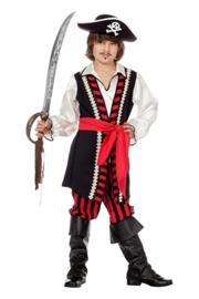 Piraten kostuum roodbaard