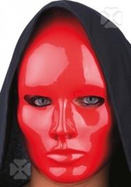 Red face masker