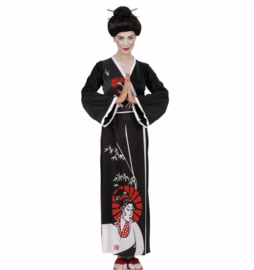 Geisha dress luxe