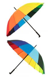 Paraplu Regenboog kleuren