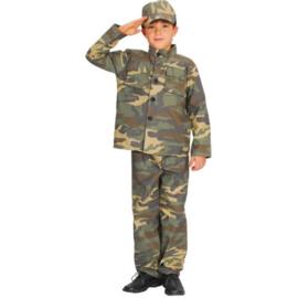 Soldaten boy kostuum
