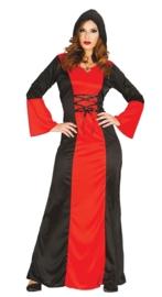 Vampiers jurk lang