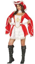 Musketiers dame jurkje