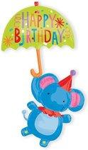 Folieballon circus olifant multiballoon