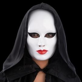 White face masker