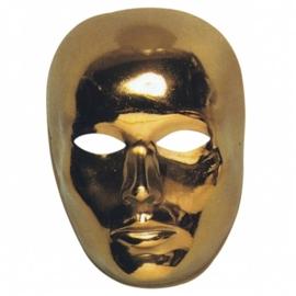 Golden face masker