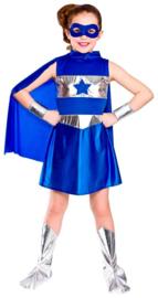Super helden kostuum - Blue
