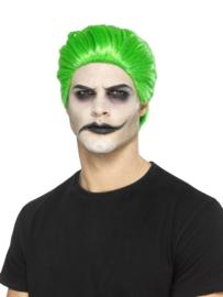 The Joker pruik luxe