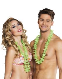 Hawaii krans groen easy 25 stuks