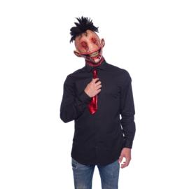 Halloween scary hanekam masker
