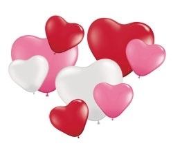 Harten ballonnen set