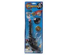 Piraten pistool set | met munten