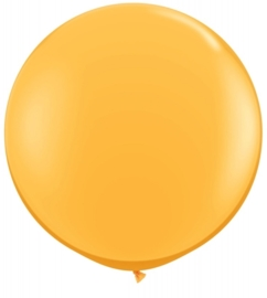 Ballon 90cm goldenrod qualatex