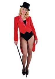 Slipjas cabaret rood
