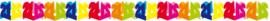 Slinger 21 jaar multicolor