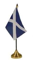 Tafelvlag Schotland zwart