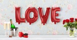 Folie ballon set Love