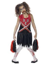 Zombie cheerleader jurkje