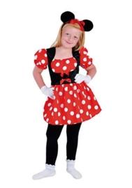 Minnie Mouse jurkje deluxe