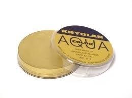 Kryolan water schmink metallic goud