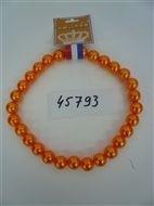 Oranje Halsketting