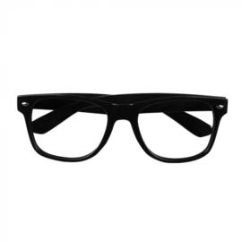 Partybril | zwart