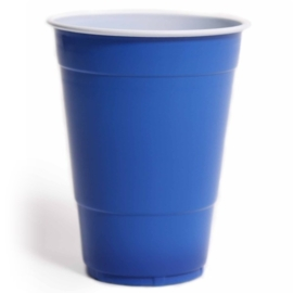 American blue cups