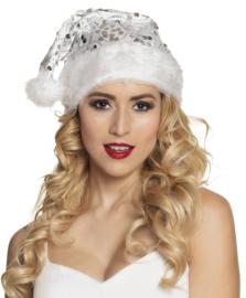 Kerstmuts engel wit