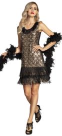 20's peacock flapper jurkje