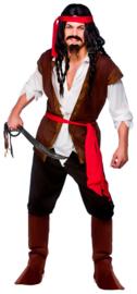 Carribean piraat kostuum Sparrow