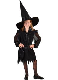 Heksen jurkje zwart
