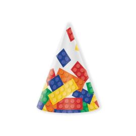 Bricks punthoedjes 8 stuks