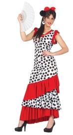 Spaanse dames jurk flamenca