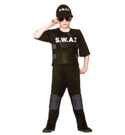 Swat team commander kostuum