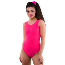 Body suit neon pink