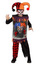 Scary joker kostuum