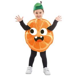 Sinaasappel kostuum kind