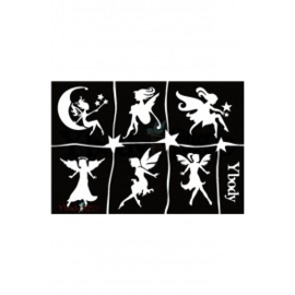 A5 stencil Fairies Y body