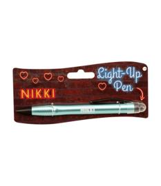 Light up pen - Nikki