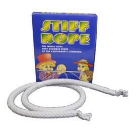 Goocheltruc stiff rope