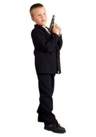 Kostuum zwart kind