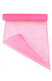 Organza op rol baby roze