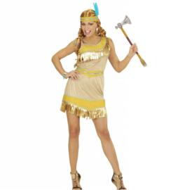 Golden indianen jurkje